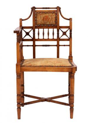 A corner chair