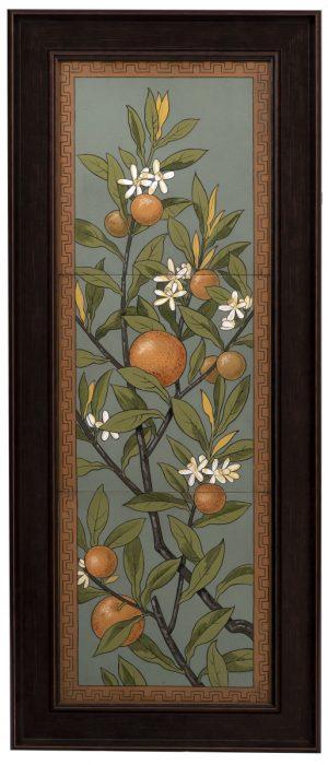 A large Mintons tile panel