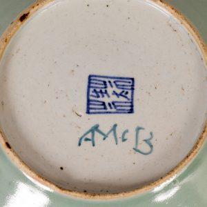 A rare Ann Macbeth painted plate