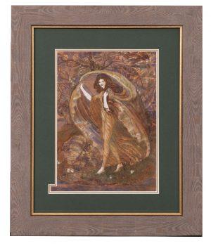 An Ann Macbeth watercolour picture