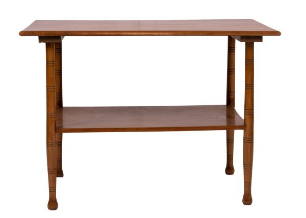 Pale wood aesthetic table