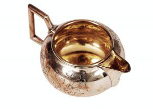 A rare Dr. Christopher Dresser tea set