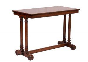 A mahogany table