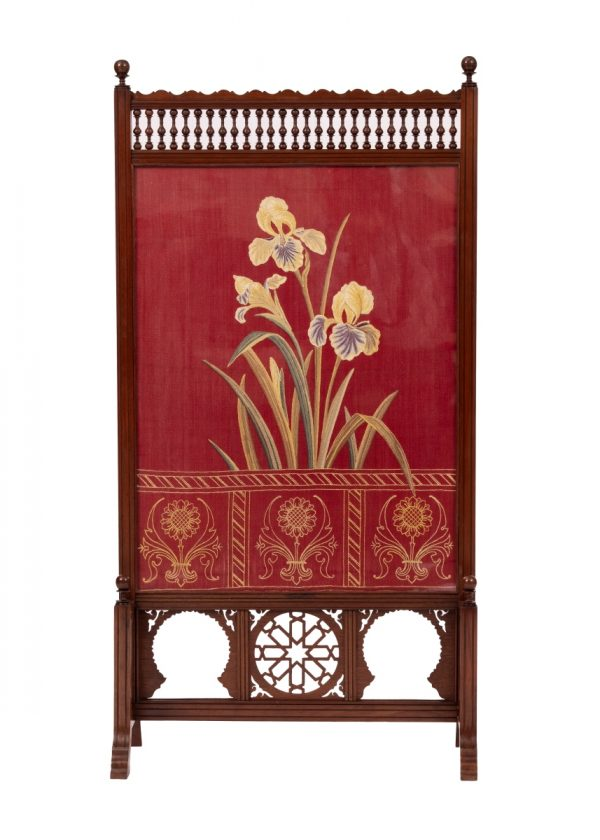 An early Liberty & Co. Anglo Moresque screen.