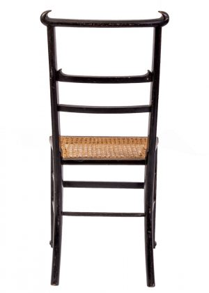 An Anglo Chinese Aesthetic Movement chair