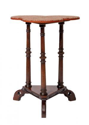 A trefoil table